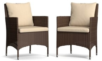 Bronx Ivy Ellie Patio Dining Chair with Cushion Ivy