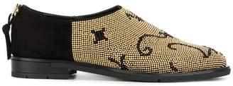 Baldinini stud embellished loafers