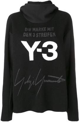 Y-3 hooded sweater