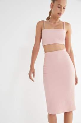 Urban Outfitters Kimmy Bodycon Midi Skirt