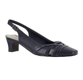Easy Street Shoes Womens Kristen Pumps Square Toe Kitten Heel