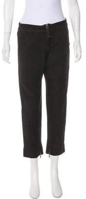 Etoile Isabel Marant High-Rise Linen Blend Pants