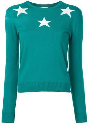 GUILD PRIME star intarsia jumper
