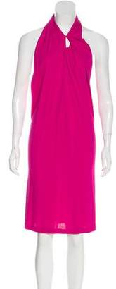 Jay Godfrey Sleeveless Midi Dress