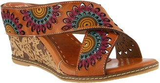 Spring Step L`Artiste by Leather Sandals - Enticing