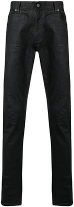 Roberto Cavalli faded slim trousers