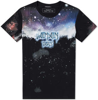 Balmain Galaxy Print Tee