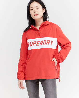 Superdry Quarter-Zip Hooded Jacket