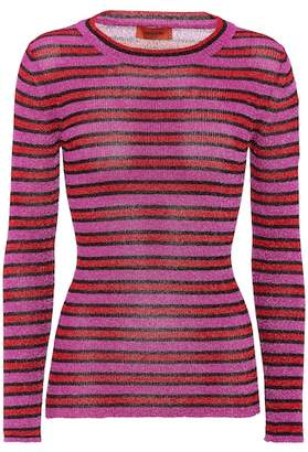 Missoni Metallic striped sweater
