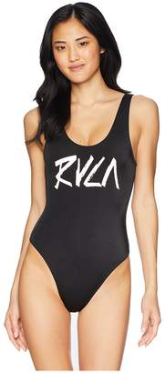 RVCA Blackout One-Piece Women's Swimsuits One Piece