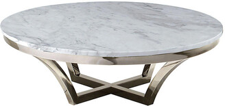 One Kings Lane Aurora Marble Coffee Table
