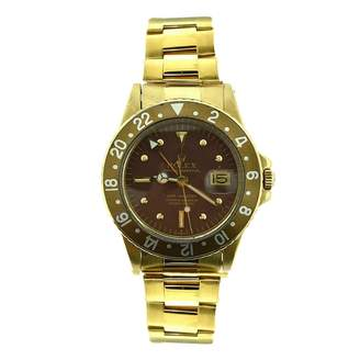 Vintage GMT Master Yellow Yellow gold Watches