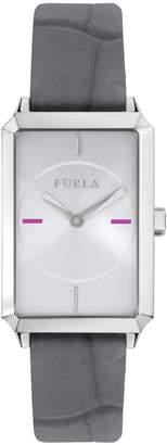 Furla Watches Women's Diana Rectangular Leather Watch, 32mm
