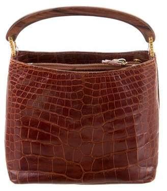 Lana Marks Alligator Handle Bag