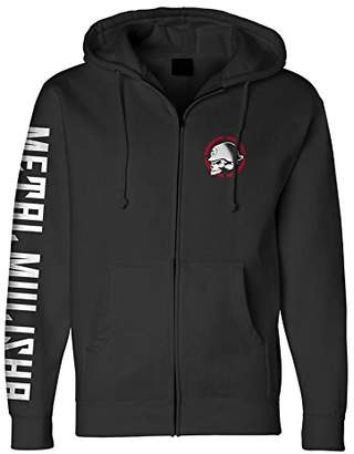 Metal Mulisha Men's Zip Fleece Hooded Sweatshirt