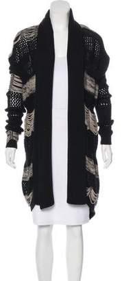 AllSaints Knit Long Sleeve Cardigan