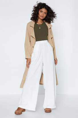 Nasty Gal It's Your Big Moment Wide-Leg Pants