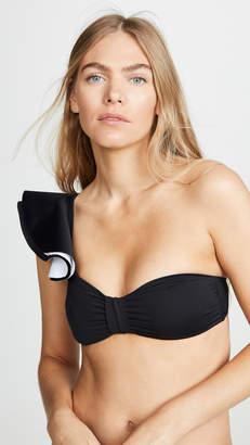 Palmacea One Shoulder Bikini Top