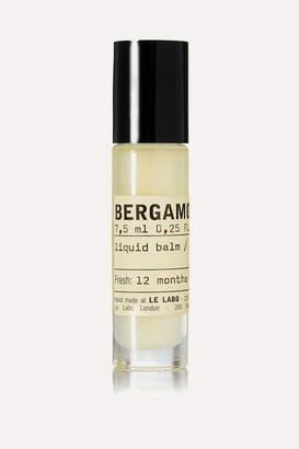 Le Labo Bergamote 22 Liquid Balm, 7.5ml - Colorless