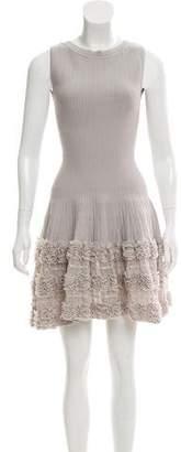 Alaia Sleeveless Fit & Flared Dress