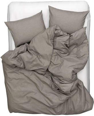 Zigzagzurich Cashmere Cotton Duvet Covers / Pillows (Grey)