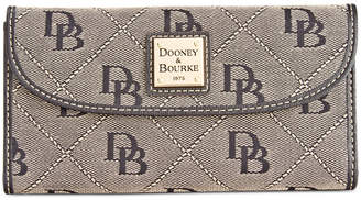 Dooney & Bourke Signature Continental Wallet