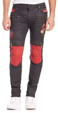Moto Slim-Fit Style Pants
