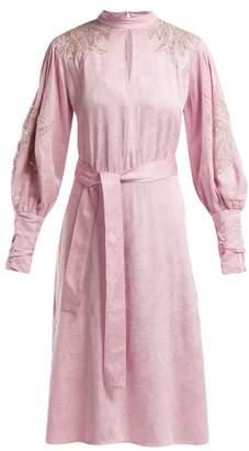 Dodo Bar Or - Josephine Bead Embellished Dress - Womens - Light Pink