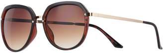 Lauren Conrad Summer Breeze 54mm Modified Round Gradient Sunglasses