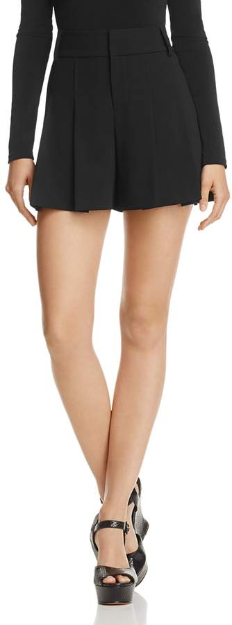 Scarlet High-Waist Flutter Shorts