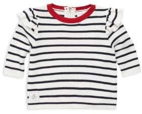 Ralph Lauren and Toddler's Cotton Stripe Sweater
