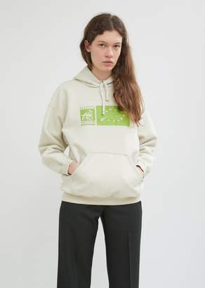 Vetements Graphic Inside-Out Fitted Hoodie