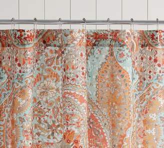 Pottery Barn Paloma Print Shower Curtain