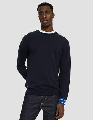NATIVE YOUTH Enrol Crewneck Knit Pullover