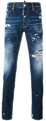 DSQUARED2 distressed Cool Guy jeans