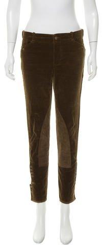 Ralph Lauren Skinny Corduroy Pants