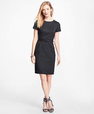 Stretch Wool-Twill Little Black Dress $148 thestylecure.com