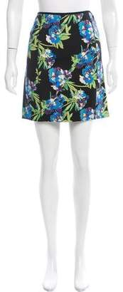 Elizabeth and James Floral Print Neoprene Skirt w/ Tags
