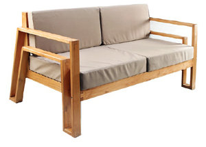 Maku Furnishings Teak Sofa