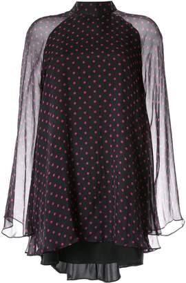 RtA polka dot print mini dress