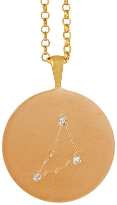 Harry Rocks - Gold Capricorn Constellation & Diamonds Necklace
