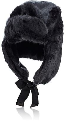 Hat Attack HAT ATTACK WOMEN'S FAUX-FUR TRAPPER HAT $109 thestylecure.com