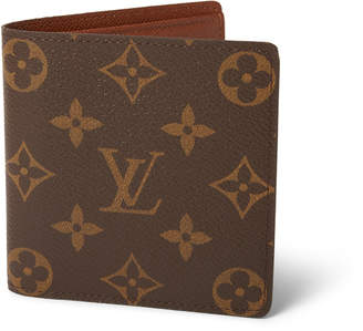 Louis Vuitton 6 Cartes Credit Card Bifold Wallet Monogram Brown