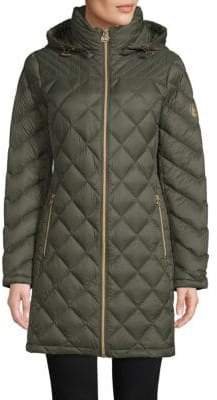 MICHAEL Michael Kors Down-Filled Quilted Packable Coat