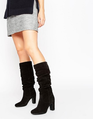 Oasis Slouch Boot $133 thestylecure.com