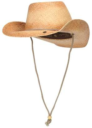 Peter Grimm Drifters Tea Stained Cowboy ROUNDUP Style Hat