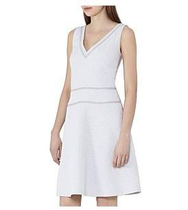 Reiss Nelly-Textured Fit And Fl