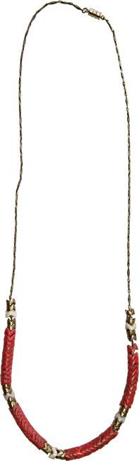 Monica Rose Red King Snake Necklace