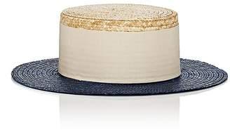 Eugenia Kim Women's Cruz Straw Boater Hat
