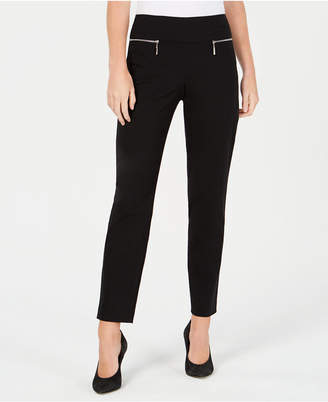 BCX Juniors' Zip Pull-On Pants